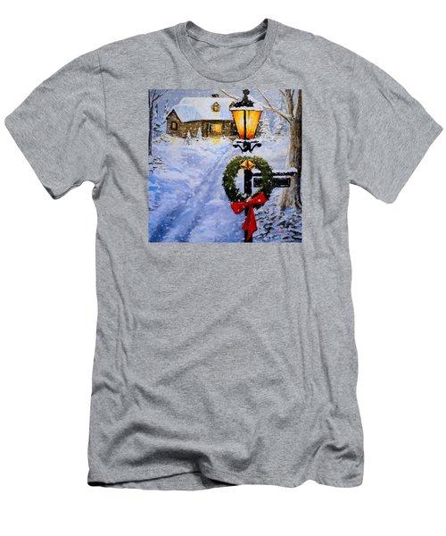 Noel Men's T-Shirt (Slim Fit) by Alan Lakin