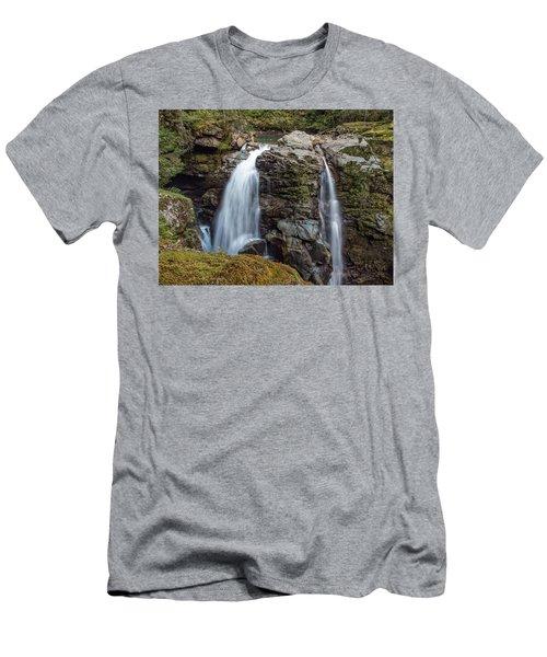 Nooksak Falls Men's T-Shirt (Athletic Fit)