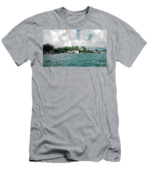 North Bimini Airport Men's T-Shirt (Athletic Fit)