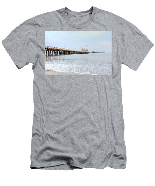 North Side Stearn's Wharf Men's T-Shirt (Athletic Fit)