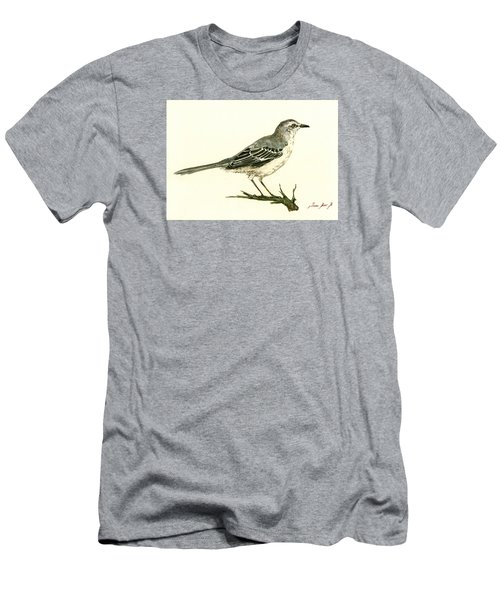 Northern Mockingbird Men's T-Shirt (Athletic Fit)