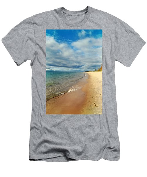 Men's T-Shirt (Athletic Fit) featuring the photograph Northern Shore by Michelle Calkins