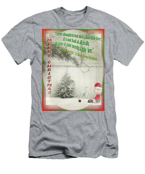 Not A Bad Little Tree Men's T-Shirt (Athletic Fit)