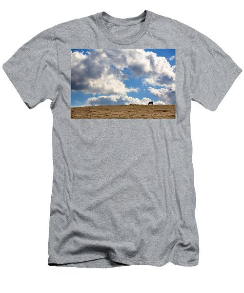 Not A Cow In The Sky Men's T-Shirt (Athletic Fit)