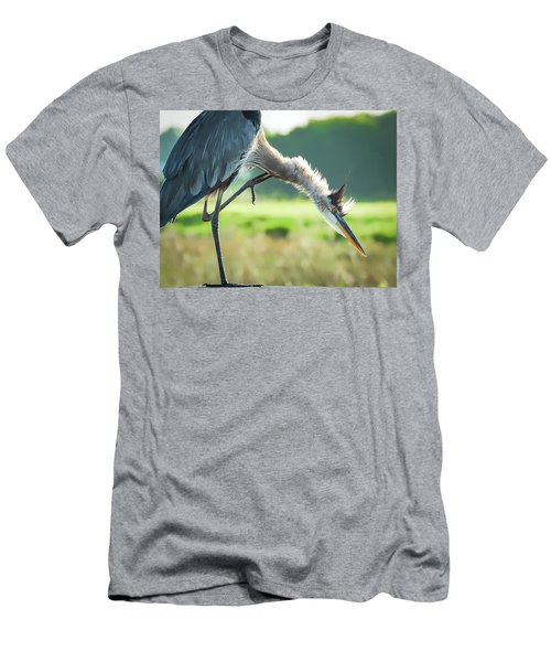 Nothing Like A Good Scratch Men's T-Shirt (Athletic Fit)