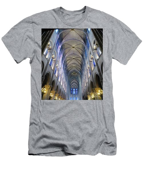 Notre Dame De Paris - A View From The Floor Men's T-Shirt (Athletic Fit)