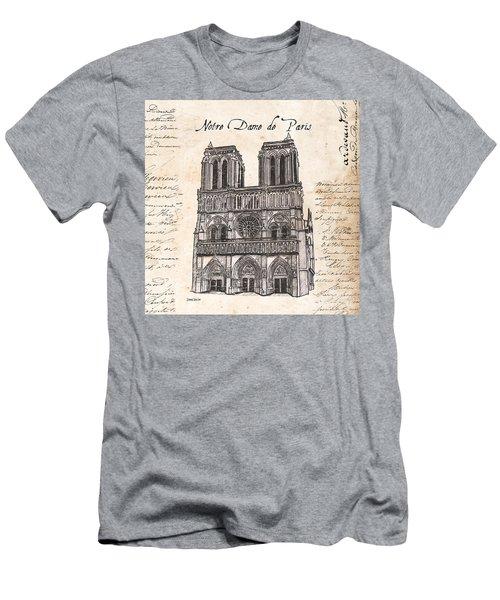 Notre Dame De Paris Men's T-Shirt (Athletic Fit)