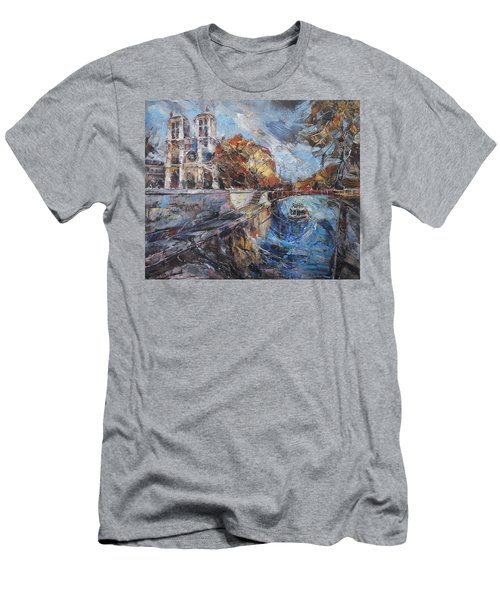 Notre-dame De Paris Men's T-Shirt (Athletic Fit)