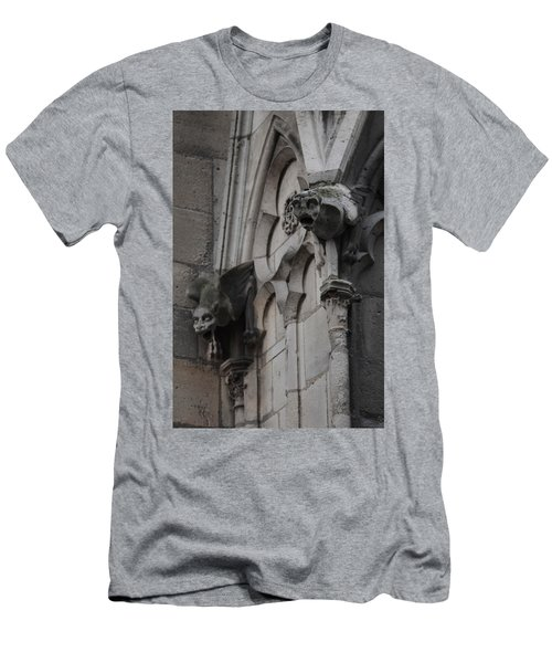 Notre Dame Grotesques Men's T-Shirt (Slim Fit)