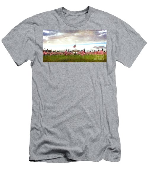 Men's T-Shirt (Slim Fit) featuring the photograph Nov5th Memorial - No.2009 by Joe Finney