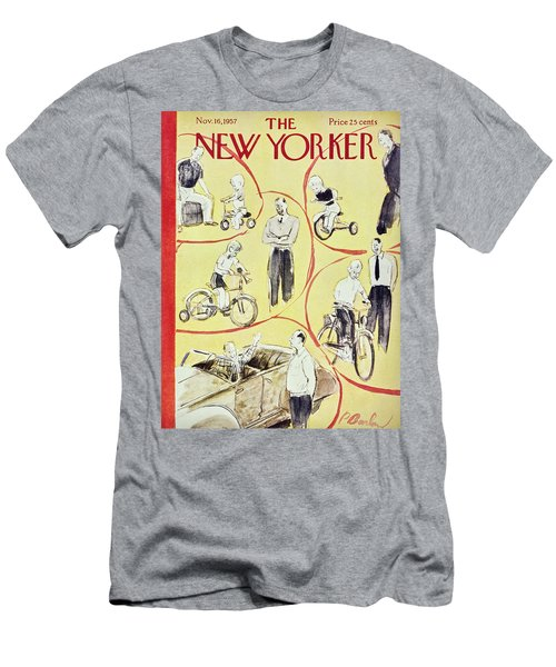 New Yorker November 16th 1957 Men's T-Shirt (Athletic Fit)
