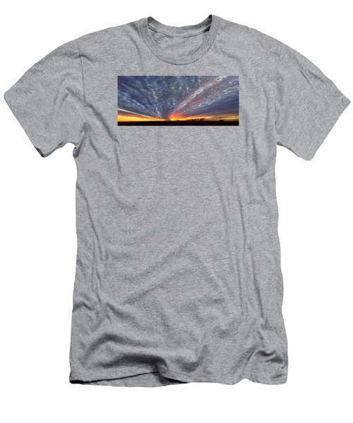 Men's T-Shirt (Slim Fit) featuring the photograph November Magic by Rod Seel