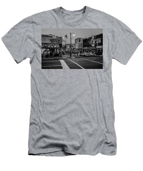 Now Entering Beale  Men's T-Shirt (Athletic Fit)