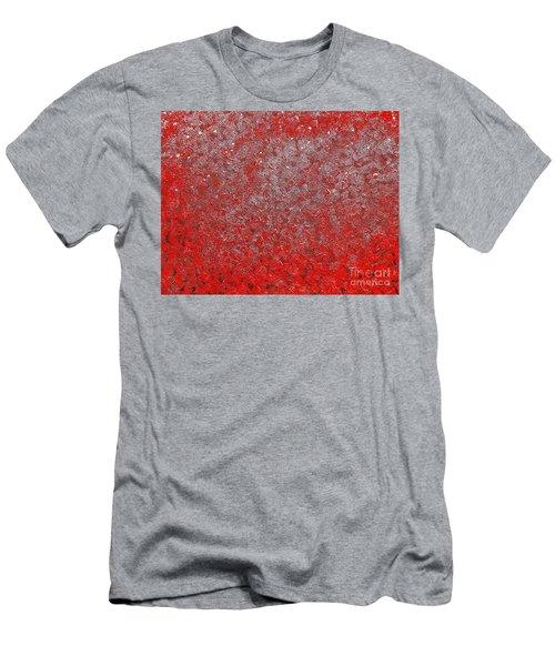 Now It's Red Men's T-Shirt (Slim Fit) by Rachel Hannah