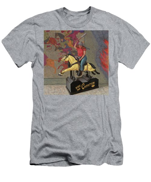 Now We Ride Men's T-Shirt (Slim Fit) by Holly Wood