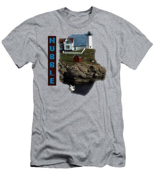 Nubble T-shirt Men's T-Shirt (Slim Fit) by Mim White