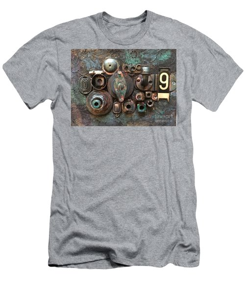 Number 9 Men's T-Shirt (Athletic Fit)