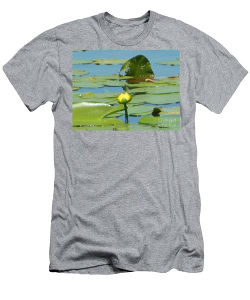 Nuphar Lutea Yellow Pond Men's T-Shirt (Athletic Fit)