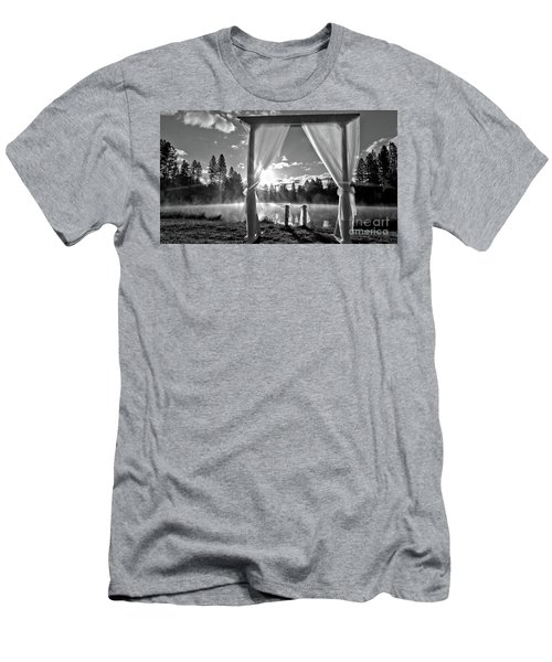 Men's T-Shirt (Slim Fit) featuring the photograph Nuptials by Julia Hassett