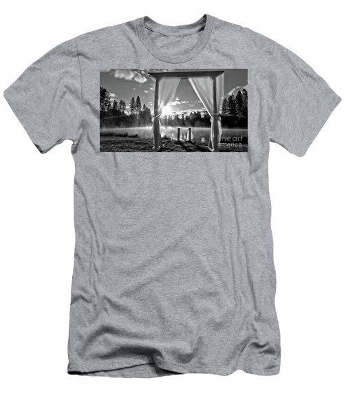 Nuptials Men's T-Shirt (Slim Fit) by Julia Hassett