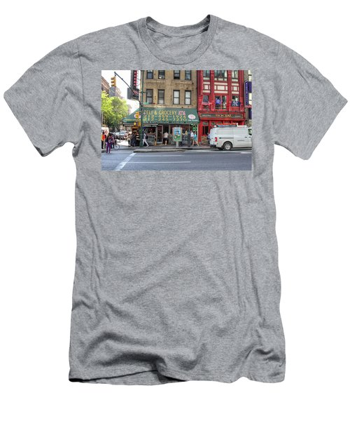 Nyc Deli And Grocery  Men's T-Shirt (Athletic Fit)