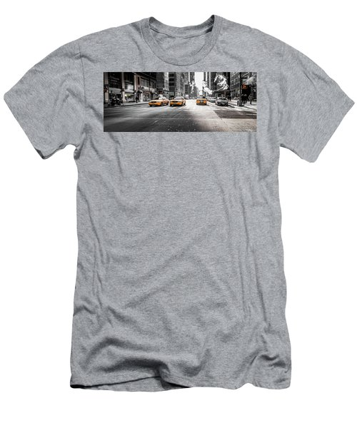 Nyc Taxi Men's T-Shirt (Athletic Fit)