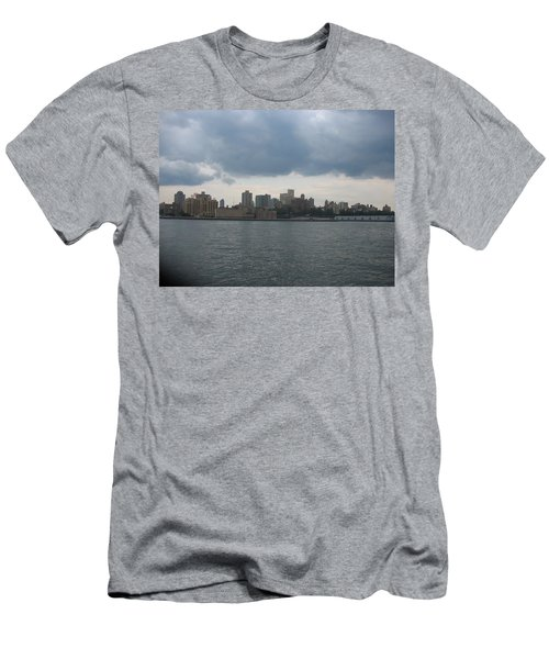 Nyc4 Men's T-Shirt (Slim Fit) by Donna Andrews