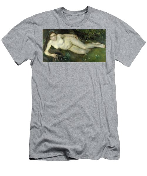 Nymph By A Stream Men's T-Shirt (Athletic Fit)