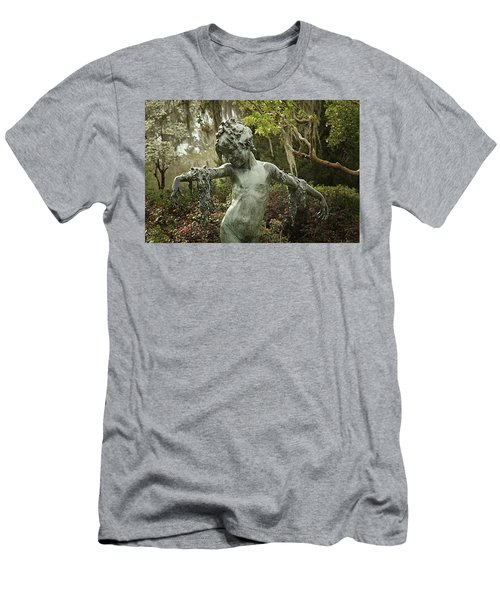 Men's T-Shirt (Slim Fit) featuring the photograph Wood Nymph by Jessica Brawley