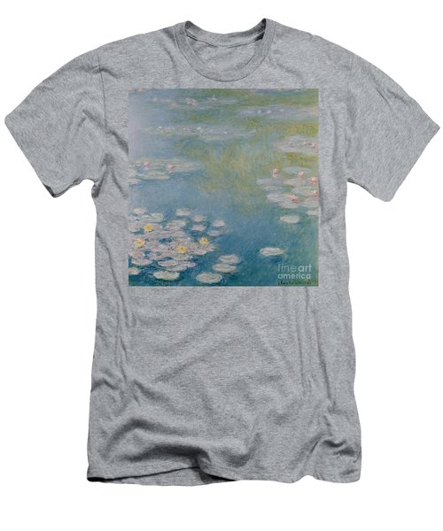 Nympheas At Giverny Men's T-Shirt (Athletic Fit)