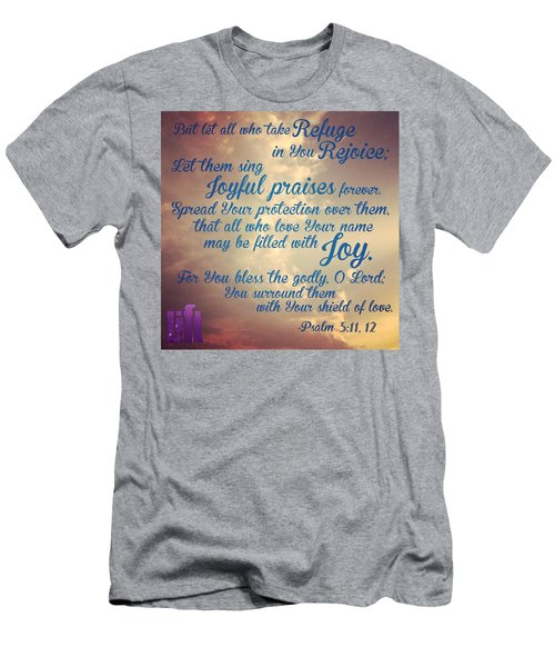 O Lord, Hear Me As I Pray;  Pay Men's T-Shirt (Athletic Fit)