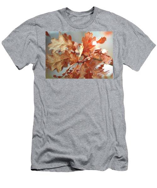 Oak Leaves In Autumn Men's T-Shirt (Athletic Fit)