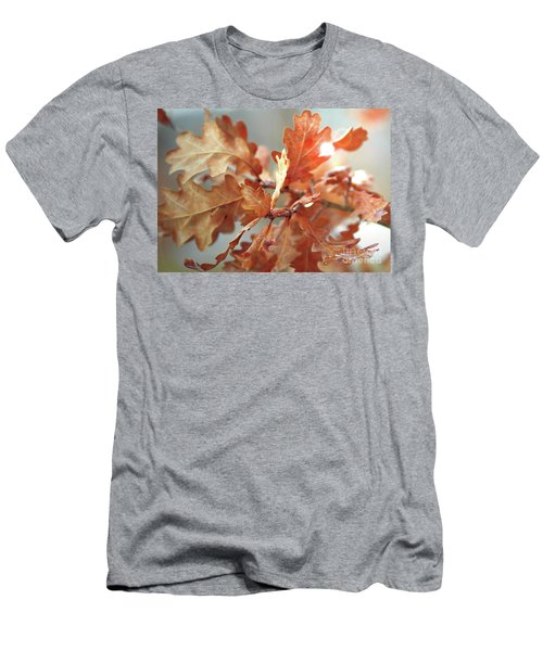Oak Leaves In Autumn Men's T-Shirt (Athletic Fit)