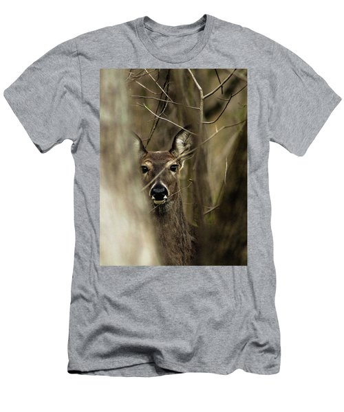 Men's T-Shirt (Slim Fit) featuring the photograph Observed  by Bruce Patrick Smith