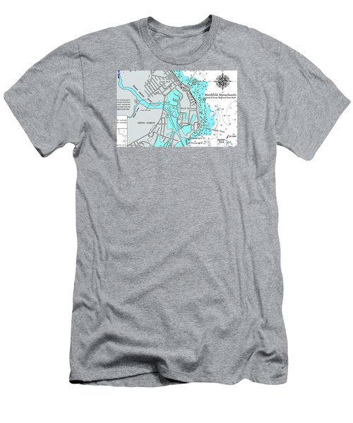 Ocean Bluff And Brant Rock Men's T-Shirt (Athletic Fit)