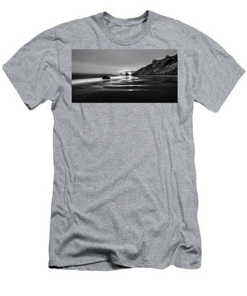 Ocean Rhythm Men's T-Shirt (Slim Fit) by Jon Glaser