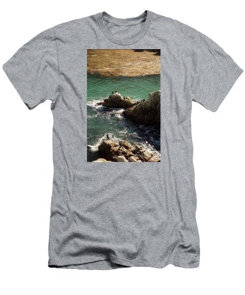 Ocean Rock Near Carmel Men's T-Shirt (Athletic Fit)