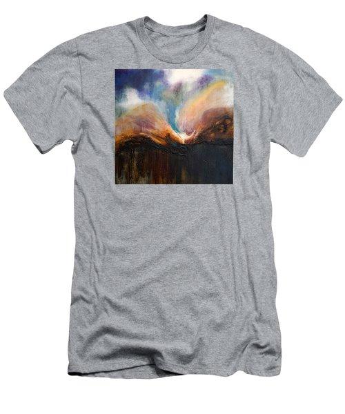 Oceans Apart Men's T-Shirt (Slim Fit) by Theresa Marie Johnson
