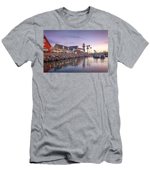 Oceanside Harbor Men's T-Shirt (Athletic Fit)