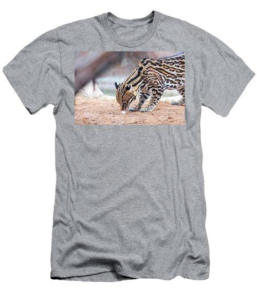 Ocelot And Egg Men's T-Shirt (Athletic Fit)