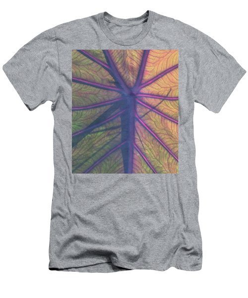 Men's T-Shirt (Slim Fit) featuring the photograph October Leaf by Peg Toliver