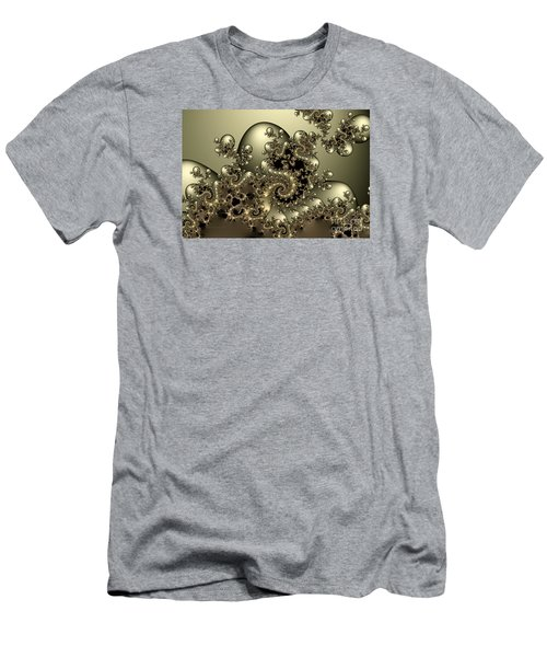 Men's T-Shirt (Slim Fit) featuring the digital art Octopus by Karin Kuhlmann