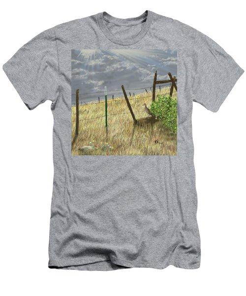 Odd Post Men's T-Shirt (Athletic Fit)