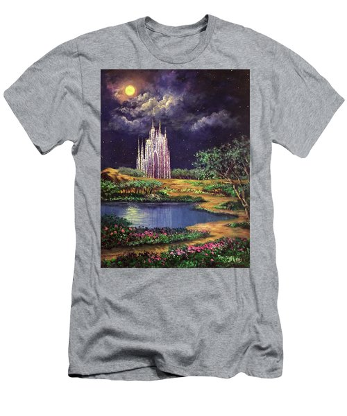 Of Glass Castles And Moonlight Men's T-Shirt (Athletic Fit)