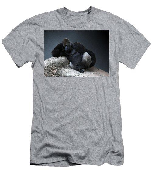 Off Duty Gorilla Men's T-Shirt (Athletic Fit)