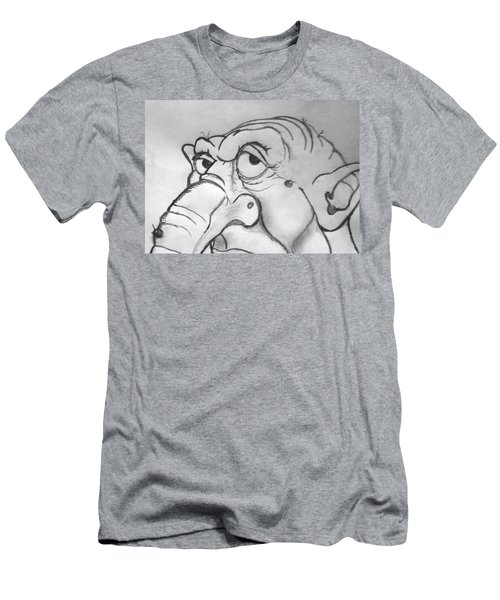 Ogre Sketch Men's T-Shirt (Athletic Fit)