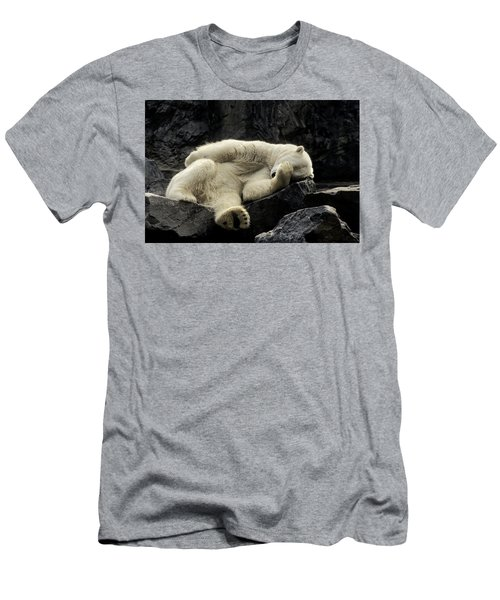 Oh What A Night Polar Bear Men's T-Shirt (Athletic Fit)