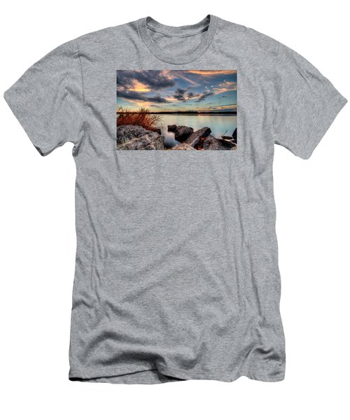 Ohio Fall Sunset Men's T-Shirt (Athletic Fit)