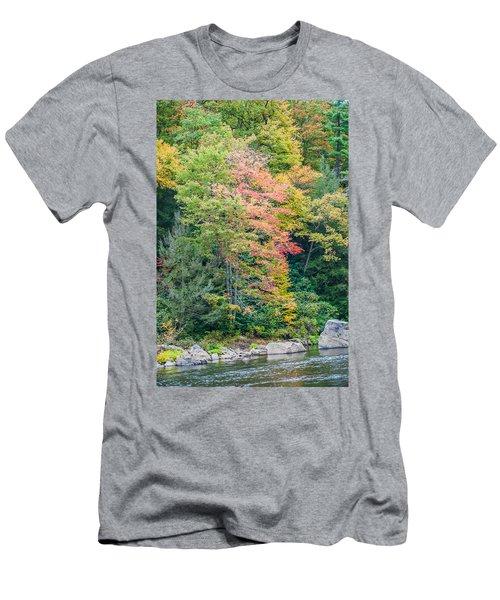 Ohio Pyle Colors - 9709 Men's T-Shirt (Athletic Fit)