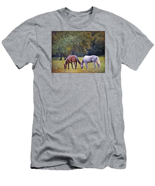Ok Horse Ranch_2a Men's T-Shirt (Athletic Fit)